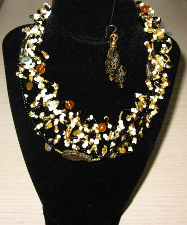 """My love of jewelry design, and love of """"Fish out of Water"""" inspired me !"""